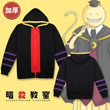 Assassination Classroom Manteau Vest Sweat à capuche Cosplay Anime Costume