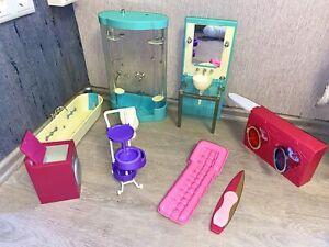 barbie badezimmer