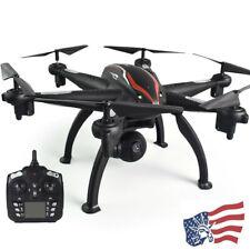 L100 2.4Ghz 1080P Wide-Angle WiFi FPV HD Camera 6-axis GPS RC Drone Auto Follow