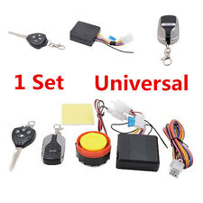 Universal Motorcycles, Bikes,Scooter Alarm System Immobiliser Remote Control Set