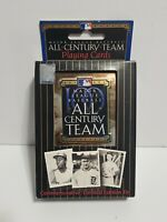 Major League Baseball MLB All Century Team Playing Cards Commemorative Tin Case