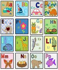 Flash Cards Printable Spanish Alphabet preschool learning Digital on Pdf