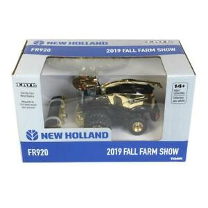 1:64 New Holland FR920 GOLD CHASE Forage Harvester by ERTL 2019 Fall Farm Show