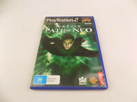 Mint Disc Playstation 2 Ps2 The Matrix Path of Neo Free Postage