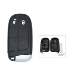 2 Buttons Keyless Blank Smart Remote Key Case Shell for Dodge Journey 2011-2015