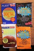 Vintage Fleer Basketball 4 Pack Lot - 1993-94 & 1994-95 Series 1&2 (HOT PACK?)