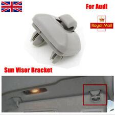 Gray Plastic Sun Visor Clip Hook Bracket Hanger Fit For Audi A1 A3 A4 A5 Q3 Q5