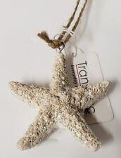 Nautical Starfish Beach Christmas Ornament New