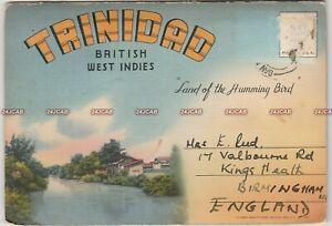 Trinidad Postcard Booklet. 18 images. Steel Band. BWIA.  Y De Lima. c 1940s