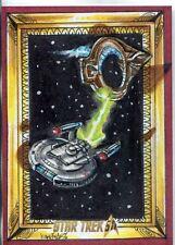 Star Trek 50th Anniversary [2017] Hand Drawn Sketch Card By Achilleas Kokkinakis