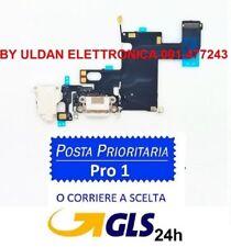 54098376536 CONNETTORE RICARICA Per iPhone 6 FLEX FLAT DOCK CARICA MICROFONO ANTENNA  BIANCO