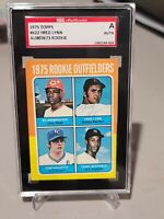 1975 TOPPS FRED LYNN RC AUTOGRAPHED ROOKIE SGC COA BOSTON RED SOX GREAT RARE