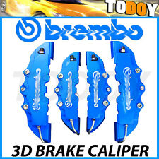 4pcs Blue Disc Brake Caliper Covers Kit For Mercedes-Benz AMG C200 C300 CLS SL