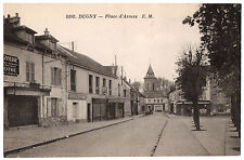 CPA 93 - DUGNY (Seine Saint Denis) - 8102. Place d'Armes - E. M.