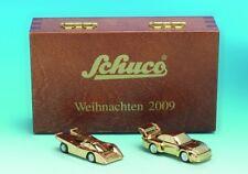 Schuco pic. PORSCHE 917 + PORSCHE 935 NATALE 2009 scatola legno età