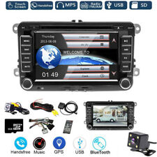 "7"" Stereo Car radio DVD GPS Sat Nav BT for VW Golf MK5 Skoda Caddy Passat Seat"