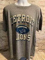 Detroit Lions Mens NFL Football Team Fan Gear Soft Comfortable T Shirt XL [MQ1]