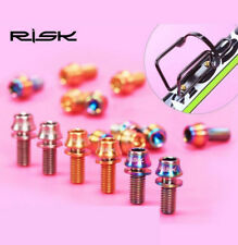 4x RISK TC4 Titanium Screws M6x18m for Crank lock Bike Bicycle DIY Parts