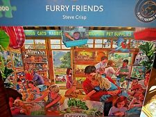 *FURRY FRIENDS - PET SHOP* GIBSONS 1000 PIECES JIGSAW PUZZLE. NEW!