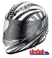 IXS Helm HX 450  Fiberglas Motorradhelm Gr.S 55-56 mit integrierter Sonnenblende