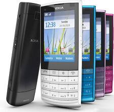 Original Nokia X3-02 Bar Style 3G WCDMA 5MP Wifi Bluetooth Cellphone