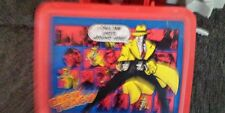 Dick Tracy Plastic lunch box and thermos