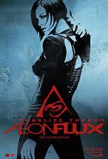 Aeon Flux Movie Poster 1 Sided Original Adv Ver B 27x40