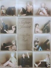 "SUPER JUNIOR ""SEXY FREE & SINGLE"" KOREAN PROMO POSTER - Boy Band, K-Pop Muisc"