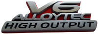 Holden VZ VE SV6 V6 Alloytec High Output Emblem Badge 190KW Calais Caprice Ute