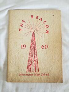 1960 Harrington Maine High School Yearbook The Beacon