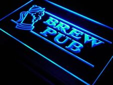 i118-b OPEN Brew Pub Bar Club Displays Neon Light Sign
