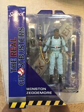 Winston Zeddemore Deluxe Real Ghostbusters Diamond Select Series 9 Firehouse Moc