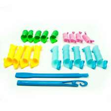 Lockenwickler Spirallocken Set, 20 Curlformer + Stab für perfekte Locken