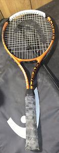 Head Ti Conquest Oversize constant beam orange tennis raquet