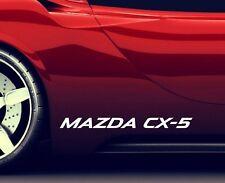 2x Side Skirt Stickers Fits Mazda CX-5 Premium Qaulity Graphics Decals RA42