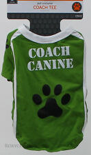 Green Coach Canine Tee Pet Dog Shirt Size Xlarge 26 in Length & up to 100 lbs