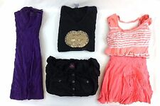 Bebe Women's Lot of 5 Casual/Dressy Tops/Dress/Skirt Large L DC14018