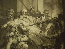 VOLTAIRE: LA HENRIADE/ 10 GRAVURES DE MOREAU LE JEUNE/ 1789, seul vol. in-4 paru