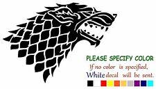 "Game of Thrones Stark wolf winter Adhesive Vinyl Decal Sticker Car Truck 7"""