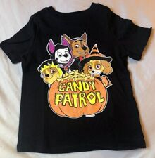 PAW PATROL HALLOWEEN BLACK OLD NAVY 2T GRAPHIC T SHIRT Candy patrol