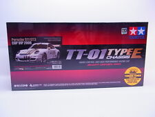 69100 Tamiya RC 47429 Porsche 911 GT3 Cup VIP 2008 TT-01 1:10 Bausatz NEU in OVP