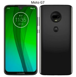 Motorola Moto G7 or G7 Power 32GB / 64GB Unlocked or T-Mobile Android Cellphone