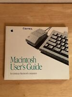 Vintage Apple Macintosh User's Guide Owner's Manual For Mac Desktop Computers