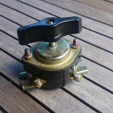 Industrial Metal ROTARY Light SWITCH Bakelite Breaker Power on off