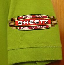 SHEETZ Convenience Store med green polo shirt Pennsylvania embroidery Shwingz