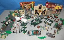 LEGO Indiana Jones 7623 Temple Escape 7626 Jungle Cutter 7625 7624 7621 Konvolut