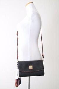 Dooney & Bourke Cork Clutch Wallet Sammi Tassel Duo MCORK0182 BLTN Black