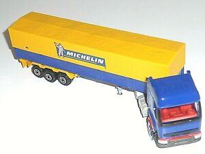 Camion bâché MAJORETTE 3040 3070 RENAULT PREMIUM MICHELIN 1/60 Model Truck