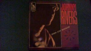 """JOHNNY RIVERS """"John Lee Hooker"""" ( 33t. )"""