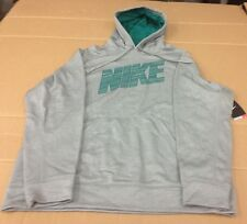 NIKE HYPER BLUR THERMA-FIT HOODIE 645394 LARGE L LG MSRP $55.00 GRAY